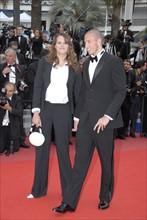 Laure Manaudou et Frederick Bousquet