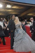 Adriana et Christian Karembeu