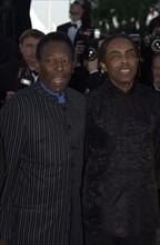 Pelé et Gilberto Gil