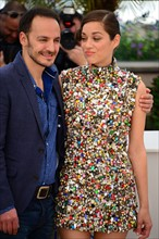 Marion Cotillard et Fabrizio Rongione, Festival de Cannes 2014