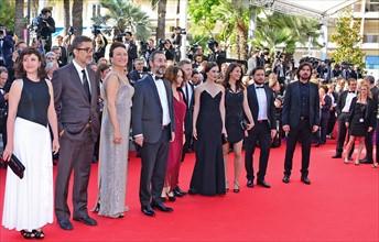 "Equipe du film ""Winter Sleep"", Festival de Cannes 2014"