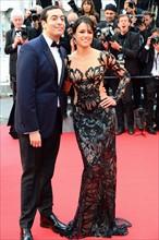 Michele Rodriguez et Mohammed Al Turki, Festival de Cannes 2015