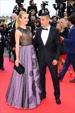 Atem Ben Arfa et sa compagne Angela Donava, Festival de Cannes 2016