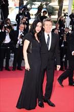 Willem Dafoe et sa femme Giada Colagrande, Festival de Cannes 2016