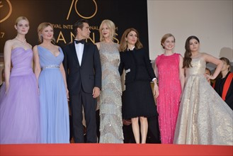 """Equipe du film """"The Beguiled"""", Festival de Cannes 2017"""