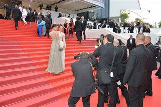 Kiko Mizuhara et Wang Likun, Festival de Cannes 2018