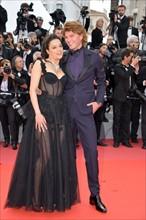 Michelle Rodriguez et Jordan Barrett, Festival de Cannes 2018