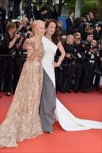 Helen Mirren et Andie MacDowell