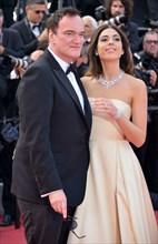 Quentin Tarantino et sa femme