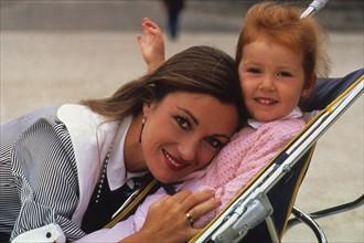 Jane Seymour et sa fille