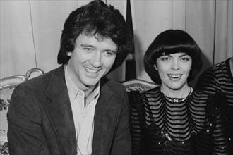 Patrick Duffy et Mireille Mathieu