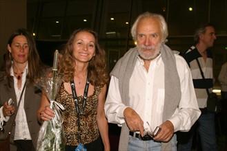 Georges Moustaki et Patricia Pélissier