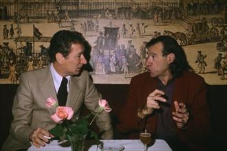 Sébastien Japrisot et Henri-François Rey, 1982