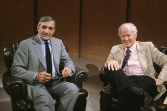 Lino Ventura et Jacques Chancel
