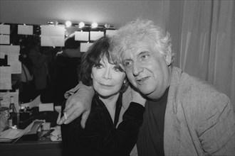 Juliette Gréco et Etienne Roda-Gil