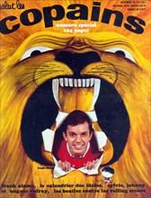 """Frank Alamo en couverture de """"Salut les Copains"""""""