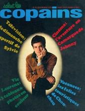 """Vic Laurens en couverture de """"Salut les Copains"""""""