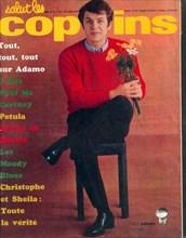 """Salvatore Adamo en couverture de """"Salut les Copains"""""""
