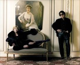 Marianne Faithfull et Jacques Dutronc