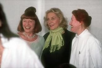 Bettina Graziani, Lauren Bacall, Adeline André
