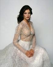 Stéphanie Seymour habillée en Azzedine Alaïa