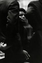 James Brown en tournée en avril 1967