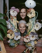 Rosita Jelmini et Angela Missoni