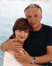 Michel Sardou et Anne-Marie Périer