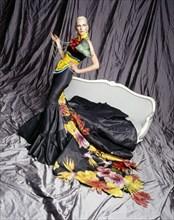 Kim Iglinsky en Christian Dior par John Galliano