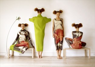 Créations du couturier Issey Miyake