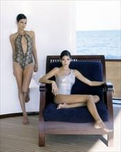 Mannequins habillées en Valentino