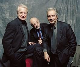 André Dussollier, Bertrand Blier et Pierre Arditi
