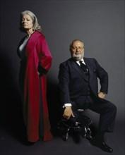 Gianfranco Ferré et Denise Malte, 1998