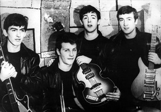 Les Beatles au Cavern Club à Liverpool