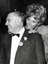 Sophia Loren et Carlo Ponti