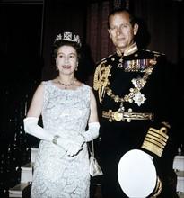 La reine Elisabeth II et son mari le Prince Philip
