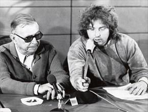 Jean-Paul Sartre et Daniel Cohn-Bendit