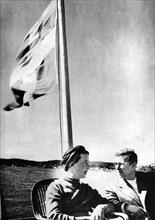 Simone de BEAUVOIR et Jean-Paul SARTRE, 1948