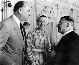 Simone de BEAUVOIR et Jean-Paul SARTRE, 1963