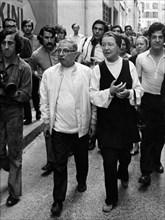 Jean-Paul SARTRE et Simone de BEAUVOIR, 1970