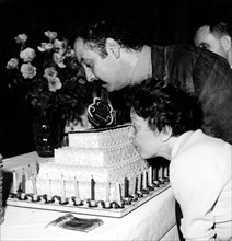 Georges Brassens et Edith Piaf