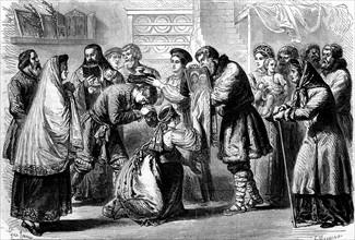 Tradition russe - Cérémonie de mariage