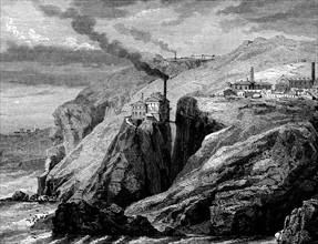 Les Cornouailles (Angleterre) - 19e siècle