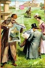 Chocolat Suchard - Publicité début 20e siècle
