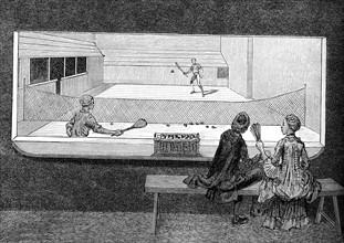 Le Jeu de Paume au 18e siècle