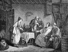 La bergère des Alpes  conte et pièce de Théatre publiée en 1766