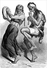 Danseurs indiens de PATAGONIE