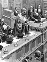 Affaire Dreyfus - Réquisitoire