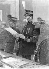 Affaire Dreyfus - Le colonel Jouaust