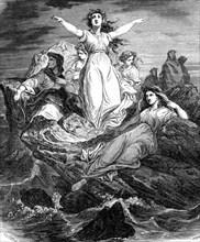 Les druidesses de l'Île de Sein